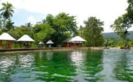 Bendungan Kapontori Buton wisata mata air yang bening di Bau Bau Sulawesi tenggara