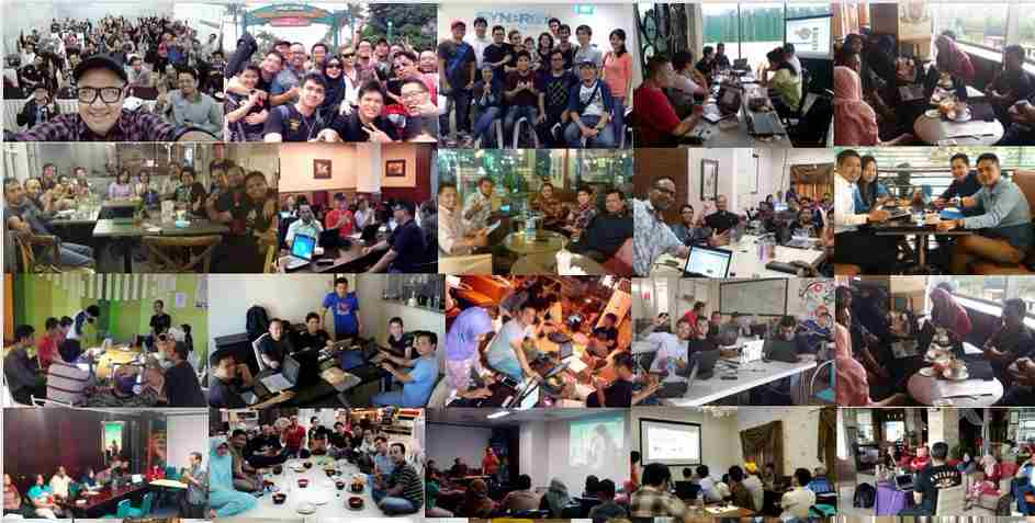 Asyiknya Belajar Bisnis online di SB1M cabang Bogor