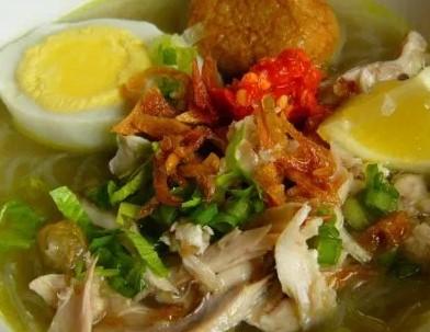 Cara memasak resep soto ayam Banjar yang enak dan lezat